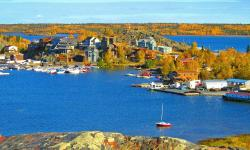 Old Town on Yellowknife Bay, Yellowknife, North Slave Region