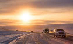 Inuvik-Tuktoyaktuk Highway (Highway 10), Beaufort Delta Region