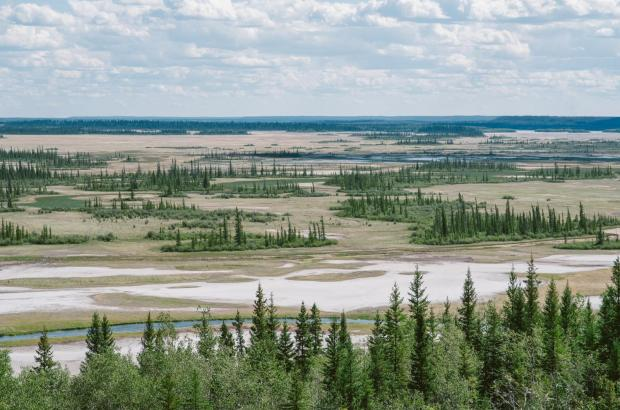 Wood Buffalo National Park, South Slave Region