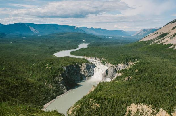 Virginia Falls, Nahanni National Park, Dehcho Region