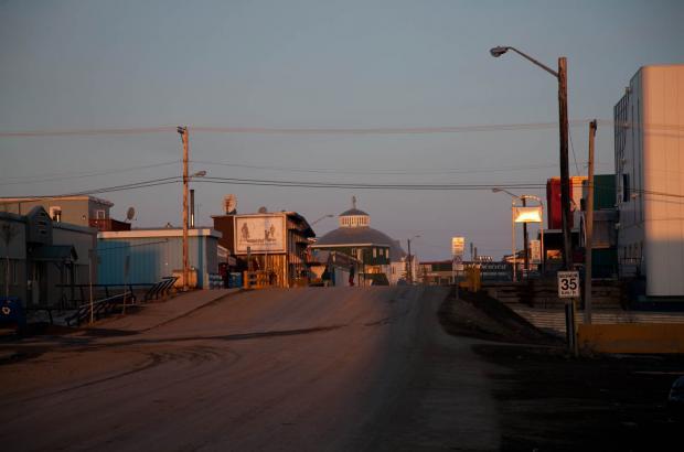 Downtown Inuvik, Beaufort Delta Region
