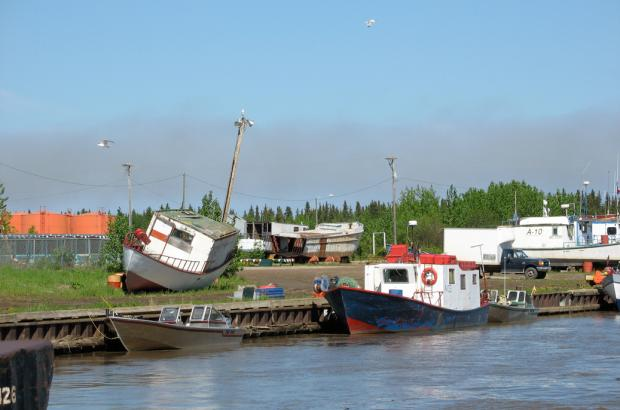 Fisherman's Wharf, Hay River, South Slave Region