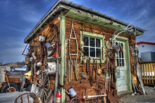 Piro's Shack, Old Town, Yellowknife, North Slave Region