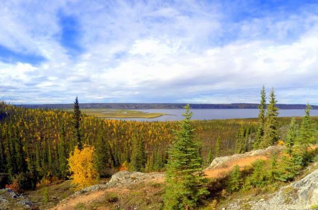 Tithegeh Chii Vitaii Lookout, Inuvik, Beaufort Delta Region