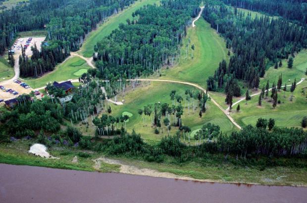 Hay River Golf Course, Hay River, South Slave Region