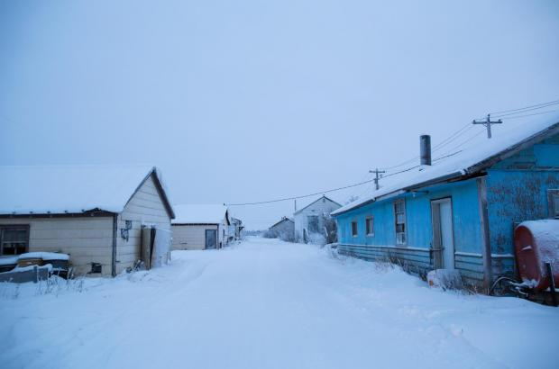 An Arctic Town Neighbourhood, Beaufort Delta Region