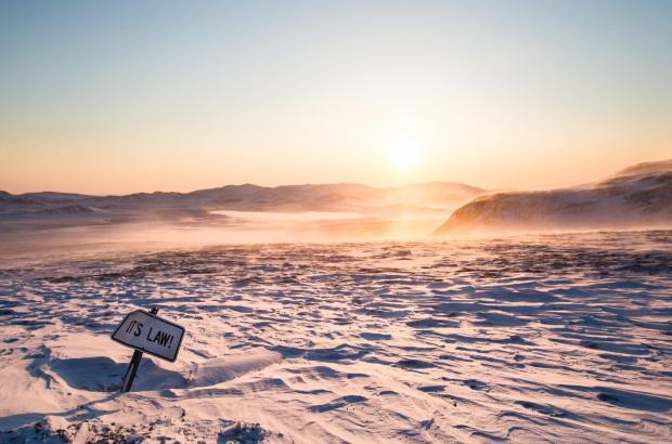 Frozen Desert, Beaufort Delta Region