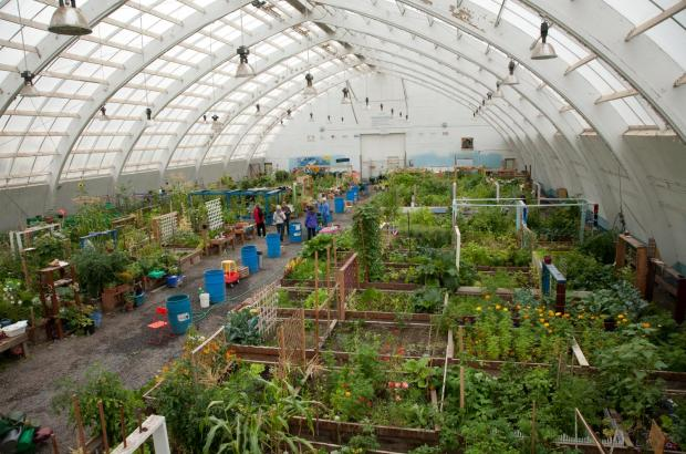 Inuvik Community Greenhouse, Inuvik, Beaufort Delta Region