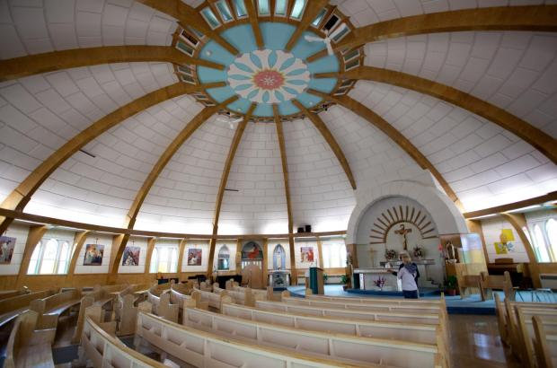 Our Lady of Victory Church (Igloo Church), Inuvik, Beaufort Delta Region