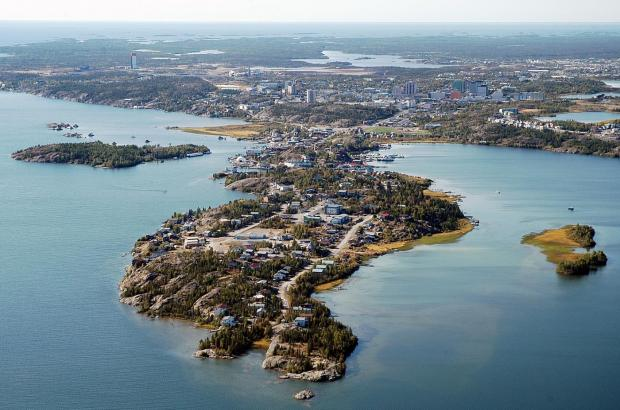 Latham Island, Yellowknife, North Slave Region