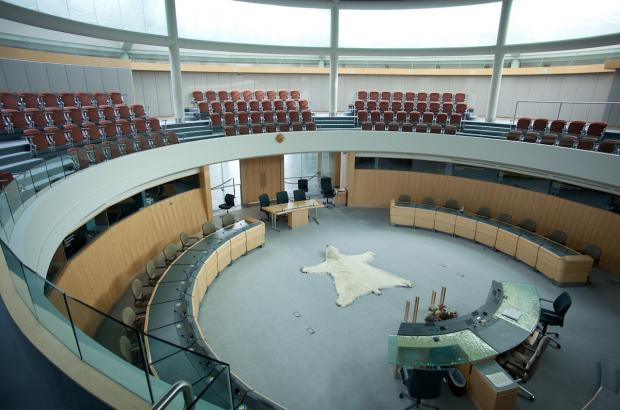 The Chamber, Legislative Assembly Building, Yellowknife, North Slave Region