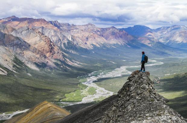 Mackenzie Mountains and Mountain River, Sahtu Region