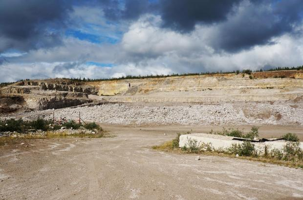 Shale Quarry, Norman Wells, Sahtu Region
