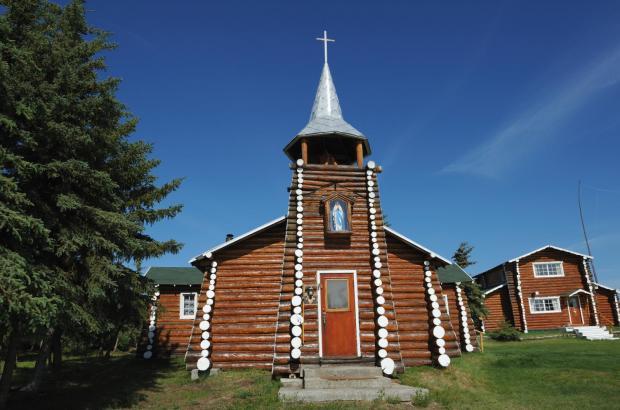 Our Lady of the Snows Church, Colville Lake, Sahtu Region