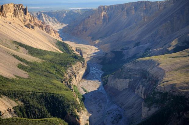 Dodo Canyon, Mackenzie Mountains, Sahtu Region