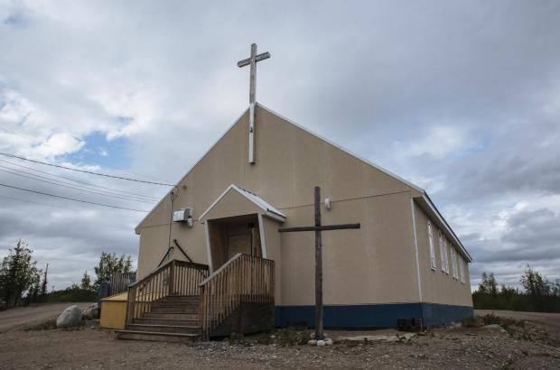 Saint Peter of Wekweètì Church, Wekweètì, North Slave Region