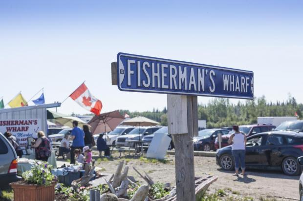 Fisherman's Wharf, Hay River, South Slave Region
