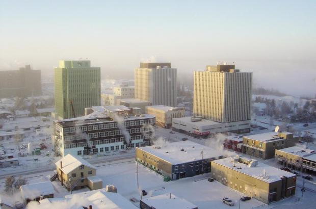 Downtown Yellowknife, North Slave Region